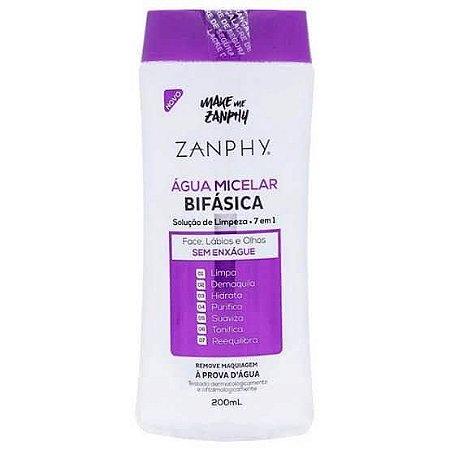 Água micelar bifásica - Zanphy