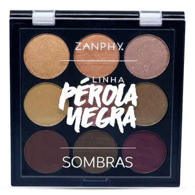 Paleta de sombra Pérola Negra 1 - Zanphy