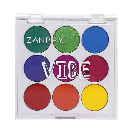 Paleta de sombras Neon Vibe 3 - Zanphy