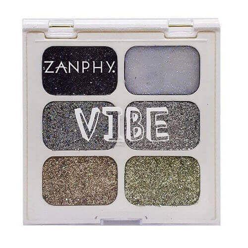 Paleta de glitter 1 linha Vibe - Zanphy