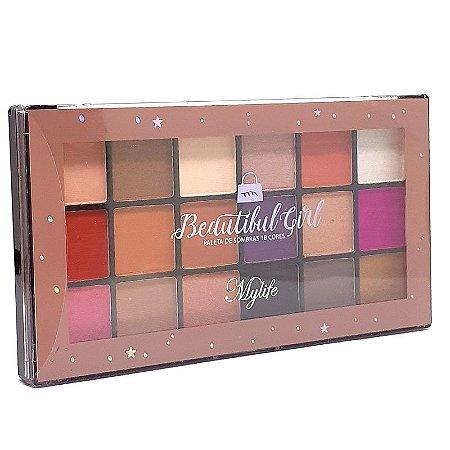 Paleta de sombras Beautiful Girl 2 - Mylife
