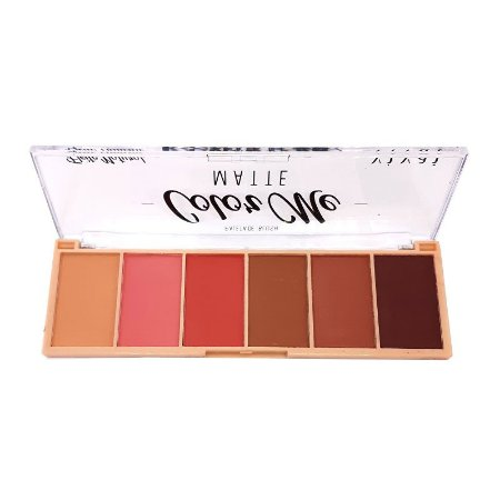 Paleta de blush Color Me Matte - Vivai