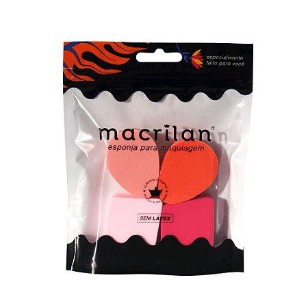 Quarteto de esponjas EP03 - Macrilan
