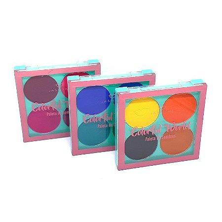 Paleta de Sombras Colorful World - Jasmyne