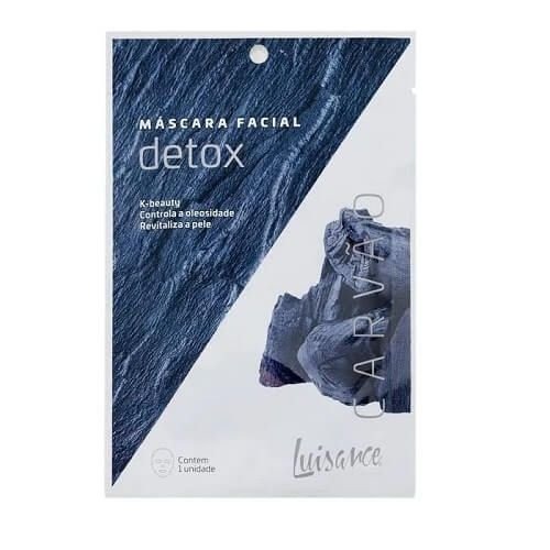 Máscara facial Detox Carvão - Luisance