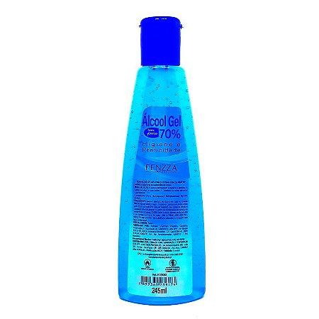 Álcool em gel 70% 245ml - Fenzza