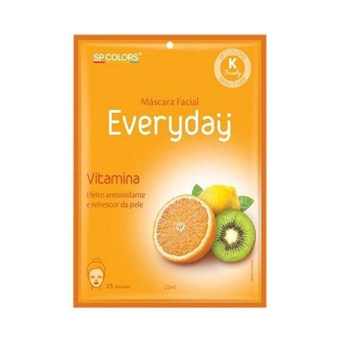 Máscara facial Everyday Vitamina - SP Colors