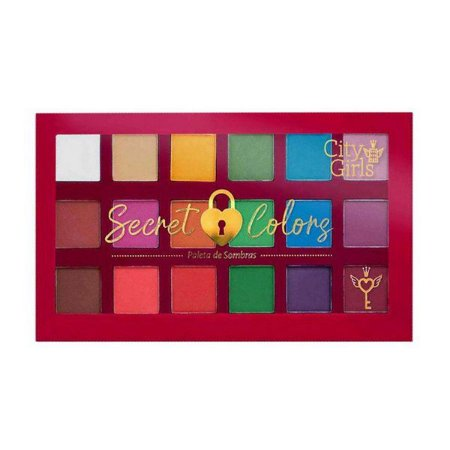 Paleta de sombras Secret Colors - City Girls