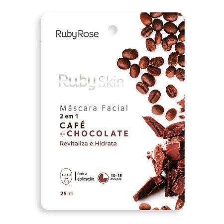 Máscara Facial Café + Chocolate - Ruby Rose