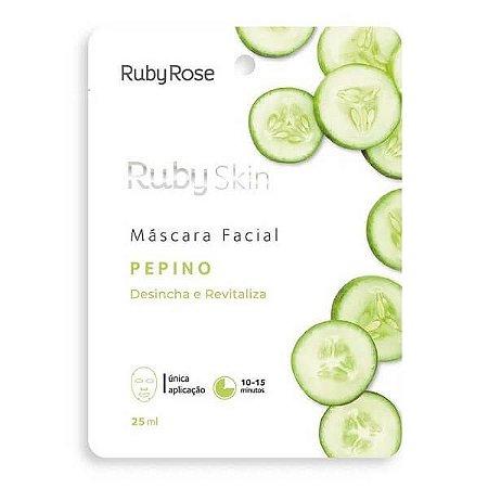 Máscara Facial Pepino - Ruby Rose