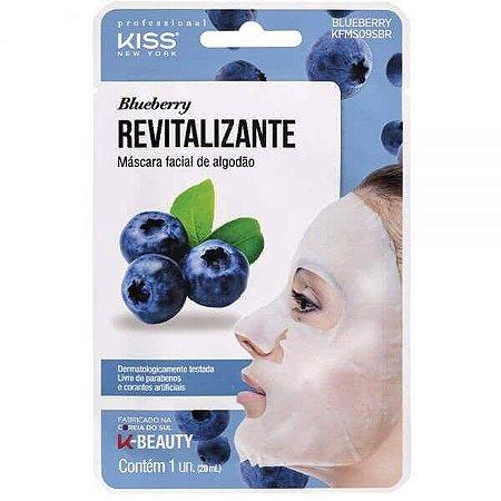 Máscara Facial Blueberry - Kiss New York
