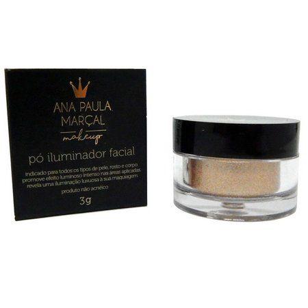 VALIDADE 2020/  Iluminador Facial Solto Bronze Glow - Ana Paula Marçal