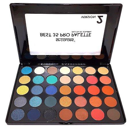 Paleta de sombras Best 35 Pro 2 - SP Colors