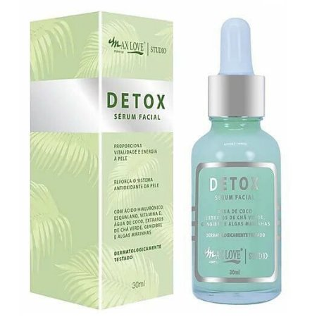 Sérum facial Detox - Max Love