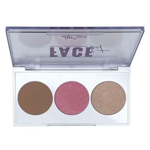Paleta Face Kit - Luv Beauty