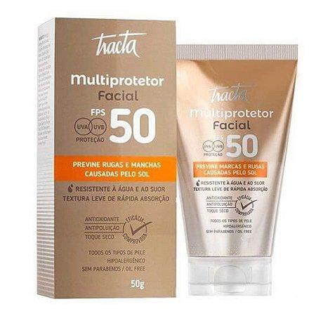 Multiprotetor facial com FPS 50 - Tracta