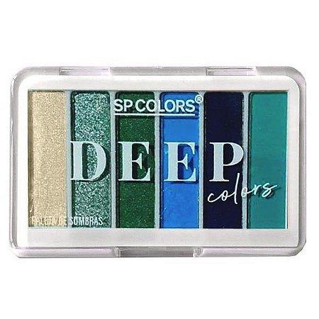 Paleta de Sombras Deep Colors cor B - SP Colors