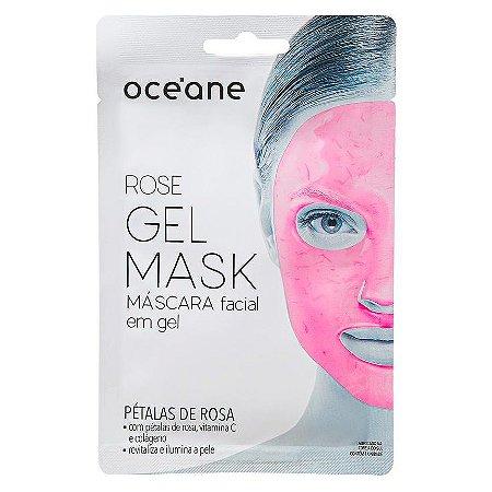 Máscara Facial em gel rose - Océane