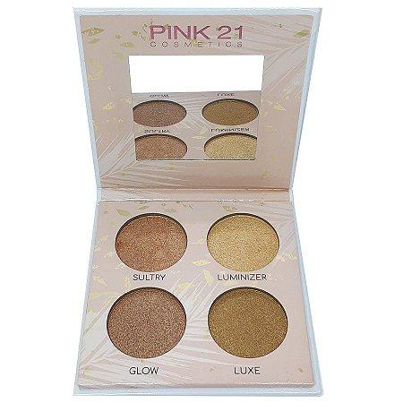 Paleta de iluminador - Pink 21