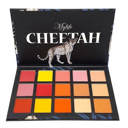 Paleta de sombras Cheetah - Mylife