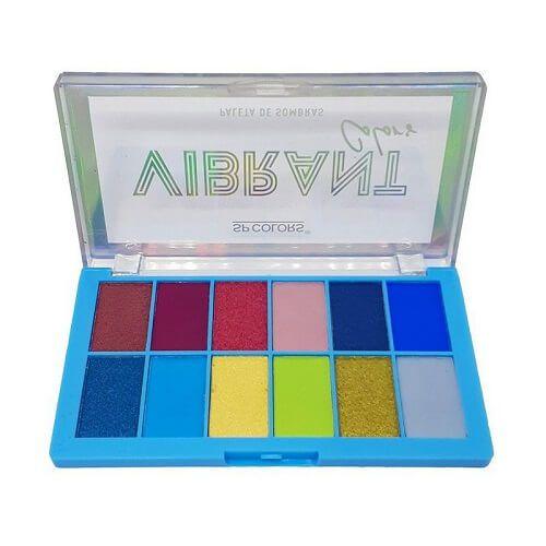 Paleta de Sombras Vibrant Colors B - SP Colors