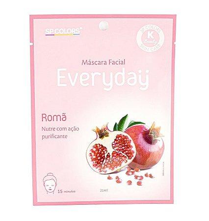 Máscara facial Everyday Romã - SP Colors