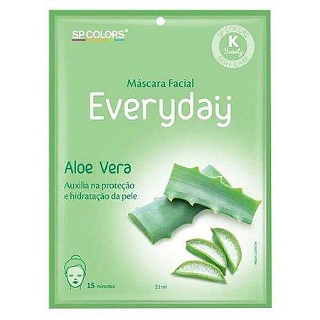 Máscara facial Everyday Aloe Vera - SP Colors