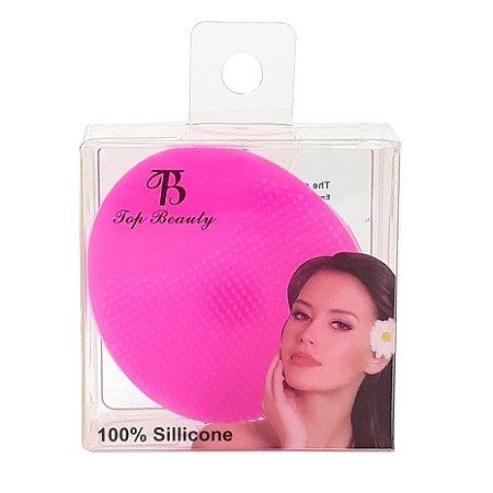 Esponja de silicone para limpeza facial