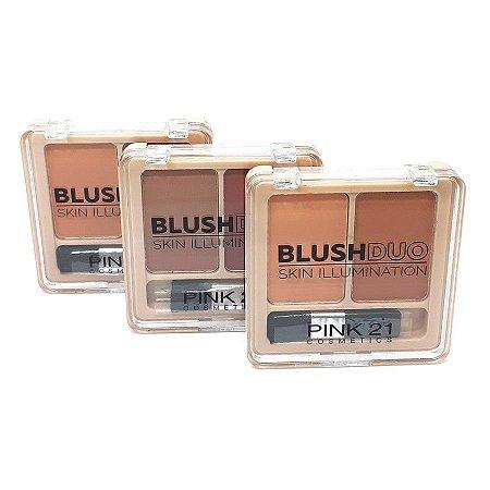 Blush Duo Skin Illumination - Pink 21