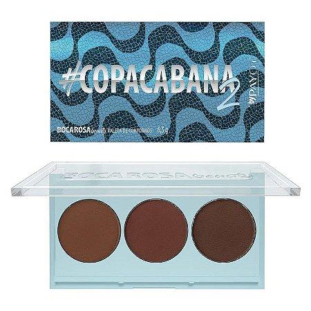 Paleta de Contornos #Copacabana 2 - Boca Rosa Beauty