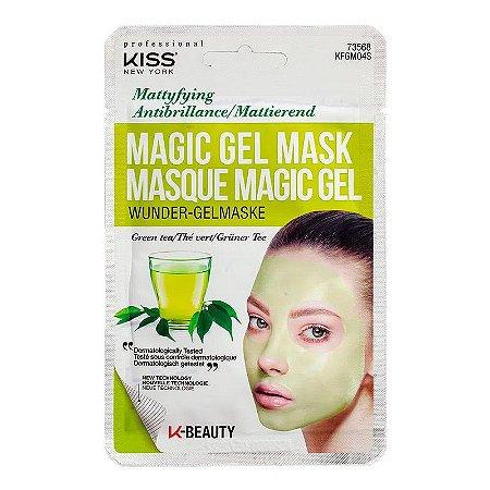 Máscara facial em gel Chá Verde - Kiss New York