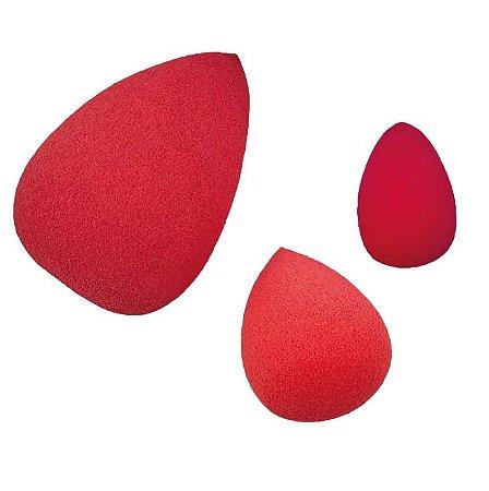 Kit com 3 esponjas Drop Blend - Océane