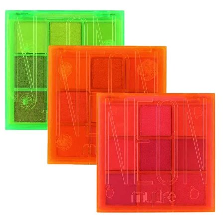 Paleta de sombras Neon - Mylife