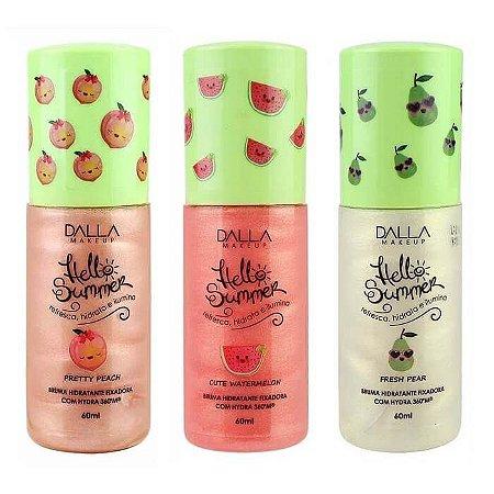 Bruma Hidratante Hello Summer - Dalla Makeup