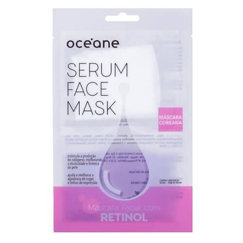 Máscara Facial Retinol - Oceane