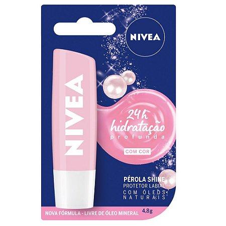 Protetor labial Pérola Shine - Nivea