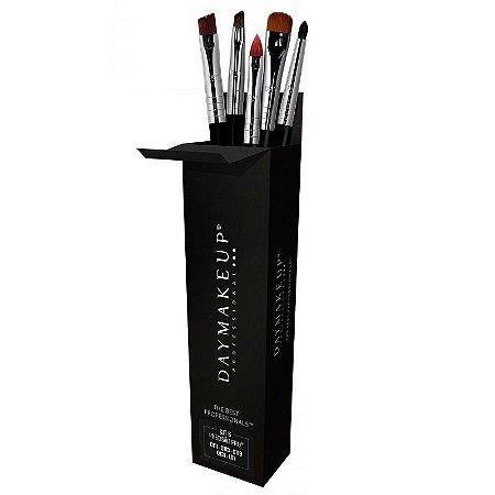Kit de pincéis de Precisão 5 Pro - Day Makeup