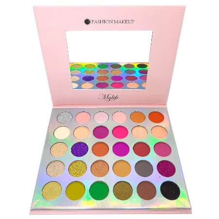 Paleta 30 cores de sombras cor 2 - Mylife