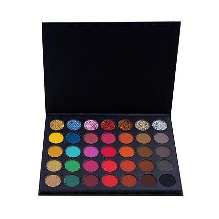 Paleta de sombras PRO 35 cores - Luisance