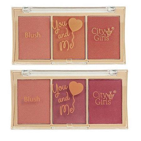 Paleta de blush You and Me - City Girls