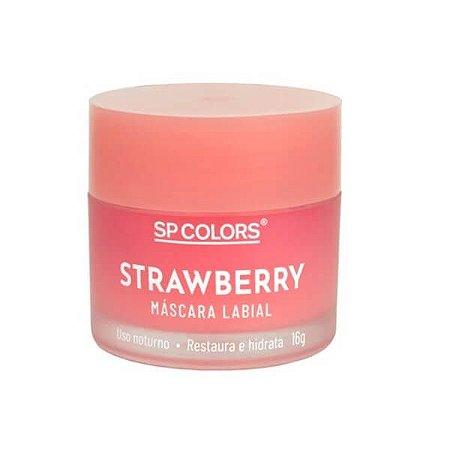 Hidratante labial Strawberry - SP Colors