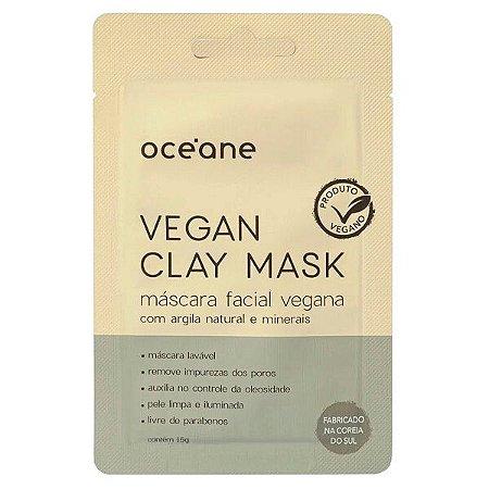 Máscara facial Vegan Clay Mask - Oceane