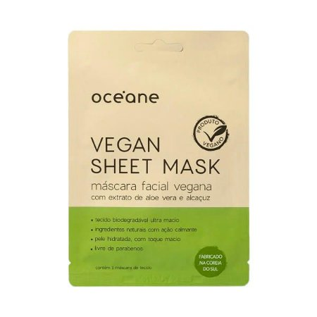 Máscara facial Vegan Sheet Mask - Oceane