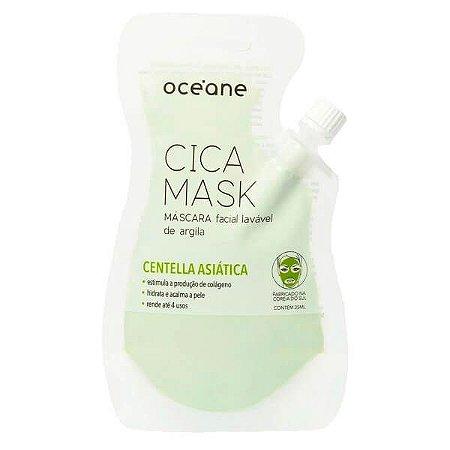 Máscara facial lavável de argila - Oceane