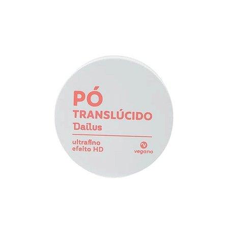 Pó solto ultrafino HD Translúcido - Dailus