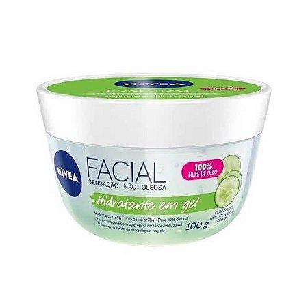 Hidratante facial em gel - Nivea