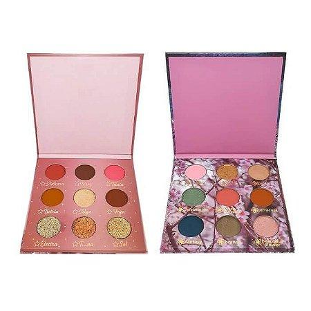 Kit de paletas com Cherry Blossom e Shine - Maika