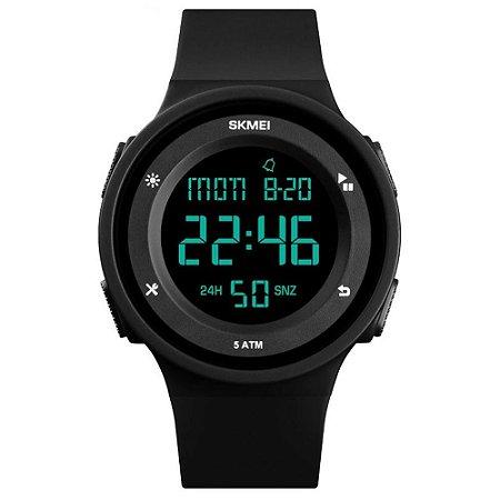 Relógio Sport Skmei Digital 1445 Prova D'água Cronômetro Preto