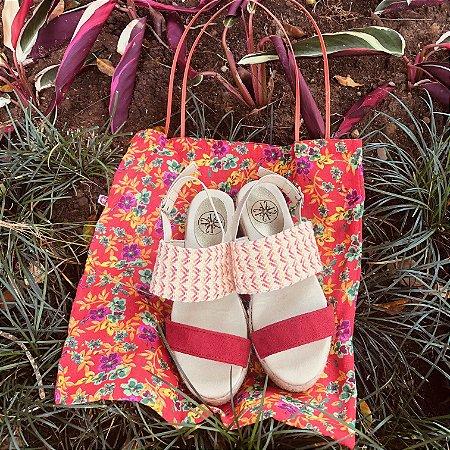 Sandália 2 Tiras Plataforma Verão
