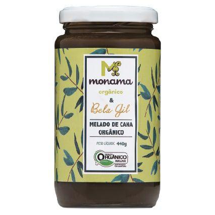 Melado Orgânico Monama & Bela Gil 440g - Sem Glúten